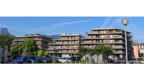 Appartement neuf Le Carré des Sources investissement loi Pinel à Challes-les-Eaux