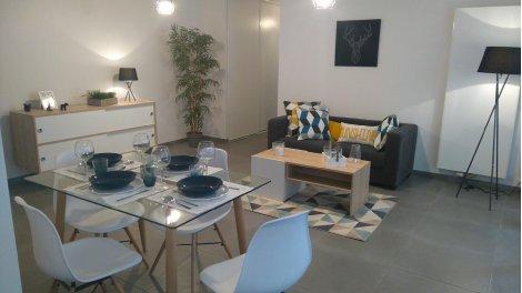 Appartement neuf Le Millenium investissement loi Pinel à Chambéry