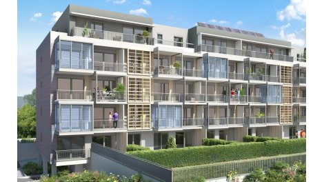 Appartement neuf Le Mikado éco-habitat à Cognin