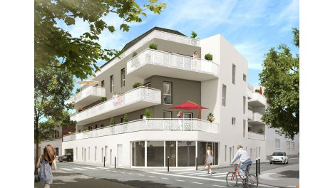 Appartement neuf Côté Monselet investissement loi Pinel à Nantes