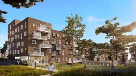 Appartement neuf Bornéo éco-habitat à Nantes