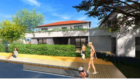 Appartements et maisons neuves Jardin Boiron éco-habitat à Pessac