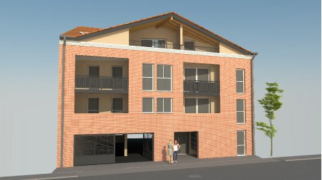 Appartement neuf Ô Coeur de Ville investissement loi Pinel à Castanet-Tolosan