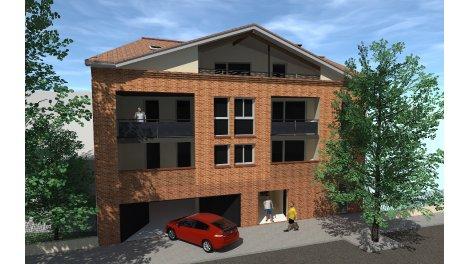 Appartement neuf Ô Coeur de Ville éco-habitat à Castanet-Tolosan