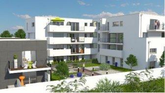 Appartements neufs Cour Interieure éco-habitat à Toulouse