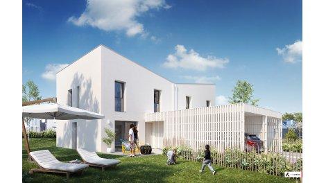 Appartements et maisons neuves Villa Urbana éco-habitat à Montgermont
