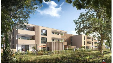 Appartement neuf Carré Nature à Saint-Gilles
