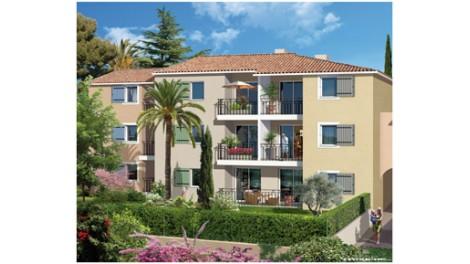 Appartements et maisons neuves Coeur Village investissement loi Pinel à La-Colle-sur-Loup