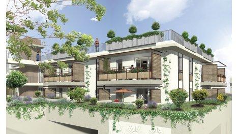 Appartement neuf Esprit Jardin investissement loi Pinel à Carros