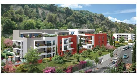 Appartement neuf Villa Anastasia éco-habitat à Nice