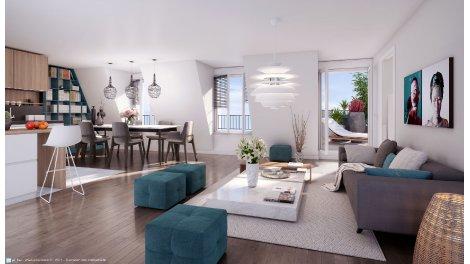 r sidence jos phine co 92 la garenne colombes programme immobilier neuf. Black Bedroom Furniture Sets. Home Design Ideas