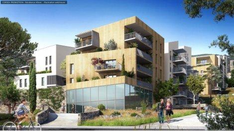 Appartement neuf Le Domaine Résidentiel de l'Altore investissement loi Pinel à Ajaccio