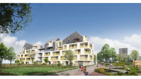 Appartements neufs Côté Parc - Oberhausbergen investissement loi Pinel à Oberhausbergen