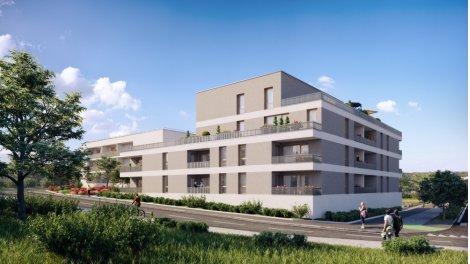 Appartements et maisons neuves Coeur Bassens investissement loi Pinel à Bassens