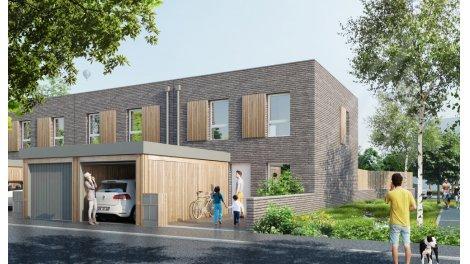 Maisons neuves Gossypium investissement loi Pinel à Wattrelos