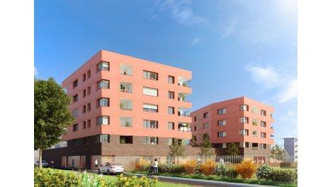 Appartement neuf Hélianthe investissement loi Pinel à Saint-Martin-d'Hères