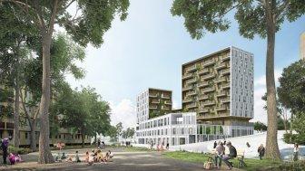 Appartements et maisons neuves Nanterre Versus à Nanterre