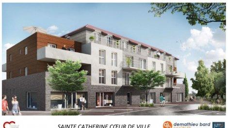 Appartements neufs Coeur de Ville investissement loi Pinel à Sainte-Catherine