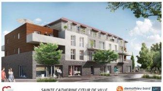 Appartements neufs Coeur de Ville à Sainte-Catherine