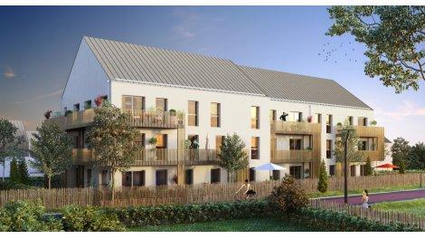 Appartements et maisons neuves Le Clos Val Guyon investissement loi Pinel à Freneuse