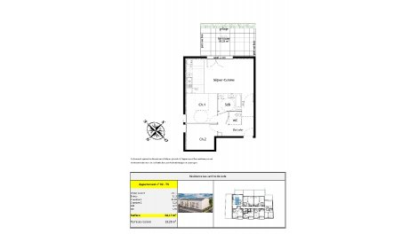 appartement neuf à Tinqueux