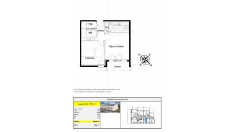 logement neuf à Tinqueux