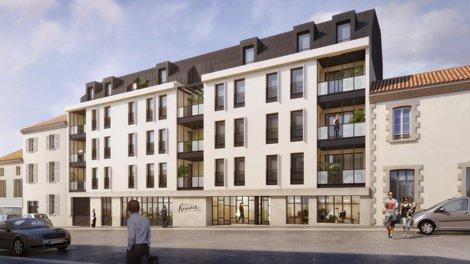 Appartements neufs Villa Renoir investissement loi Pinel à La Roche-sur-Yon