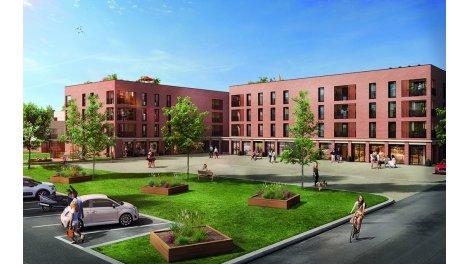 Appartements neufs Faubourg Tolosa éco-habitat à Toulouse