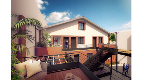 Appartements neufs Le Conti investissement loi Pinel à Toulouse