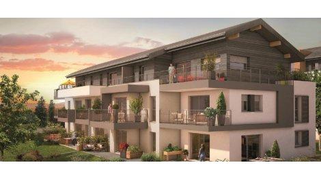 Appartement neuf Panoramik investissement loi Pinel à Contamine-sur-Arve