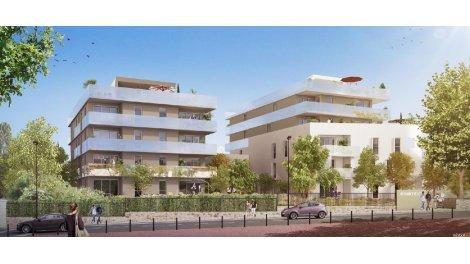 Appartement neuf Le 413 investissement loi Pinel à Marseille 9ème