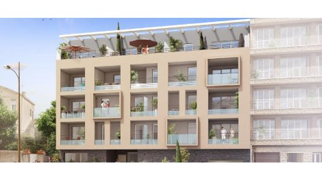 Appartement neuf L'Eden investissement loi Pinel à Marseille 8ème