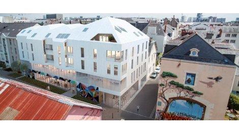 Appartement neuf L'Insolite investissement loi Pinel à Nantes