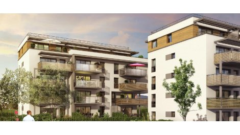 Appartement neuf Affinity investissement loi Pinel à Saint-Genis-Pouilly