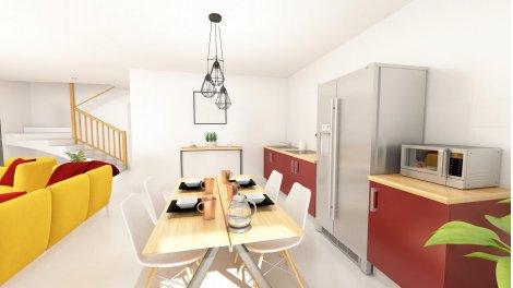 Appartement neuf K-Verde investissement loi Pinel à Villeurbanne