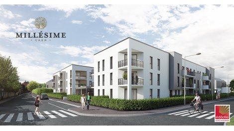 Appartements et maisons neuves Millesime éco-habitat à Caen