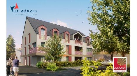 Appartement neuf Le Genois investissement loi Pinel à Ouistreham