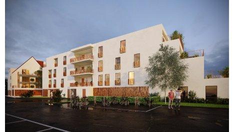 Appartement neuf L'Anvergur investissement loi Pinel à Haguenau