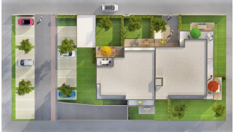 Appartements neufs Fleur d'Eau investissement loi Pinel à Sennecey-Lès-Dijon