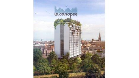 Appartements neufs La Canopée investissement loi Pinel à Strasbourg