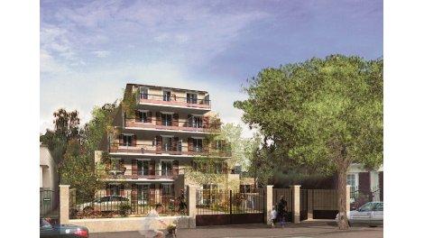 Maisons neuves La Roseraie investissement loi Pinel à Livry-Gargan
