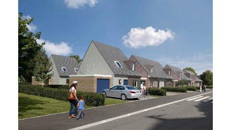 Appartements et maisons neuves Natura Verde investissement loi Pinel à Halluin