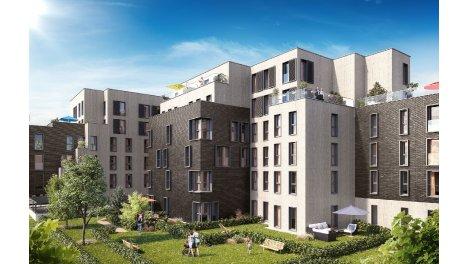 Appartements neufs Pavillon du Jardin des Plantes investissement loi Pinel à Lille