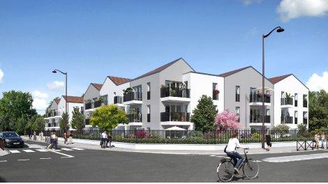 Appartements neufs L'Orangerie investissement loi Pinel à Viry-Châtillon