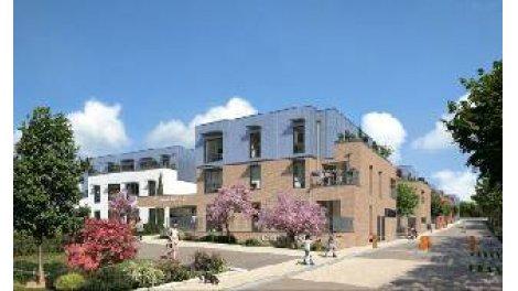 Appartement neuf Residence Square St Fuscien éco-habitat à Amiens