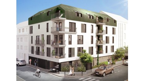 Appartement neuf Carre Grillaud investissement loi Pinel à Nantes