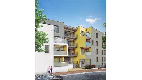 Appartements et maisons neuves Jardins de Tess investissement loi Pinel à Vénissieux