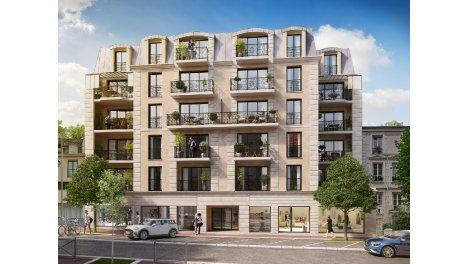Appartement neuf Les Balcons de Clamart investissement loi Pinel à Clamart