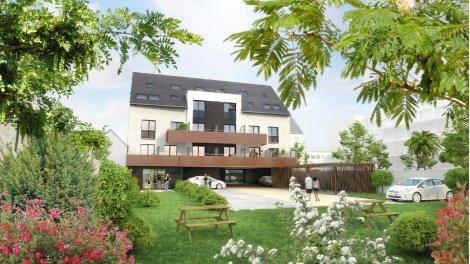 Appartement neuf Racine Carree éco-habitat à Rennes