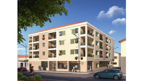 Appartement neuf L'Alandier investissement loi Pinel à Vallauris